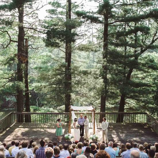 Forts Folle Avoine Wedding