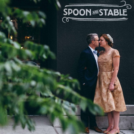 Spoon and Stable Wedding Dinner