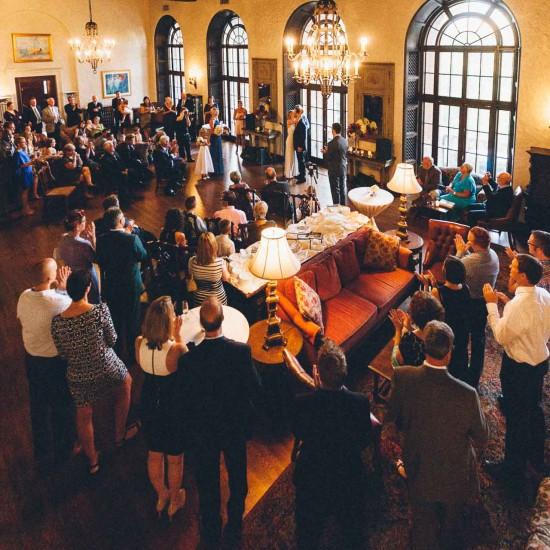 Woman's Club of Minneapolis Wedding