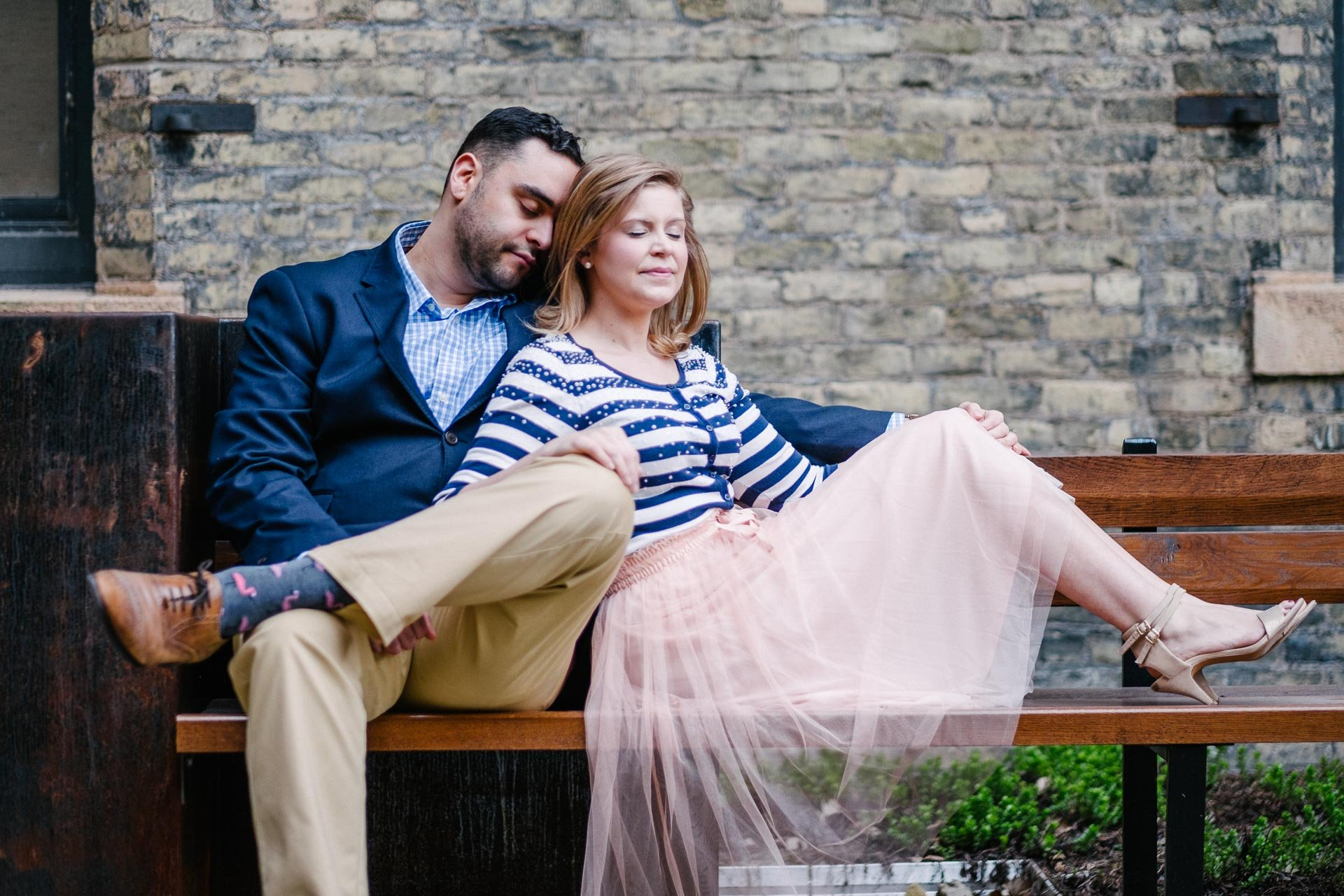 Engagement Photography Session in St. Paul Pioneer Endicott