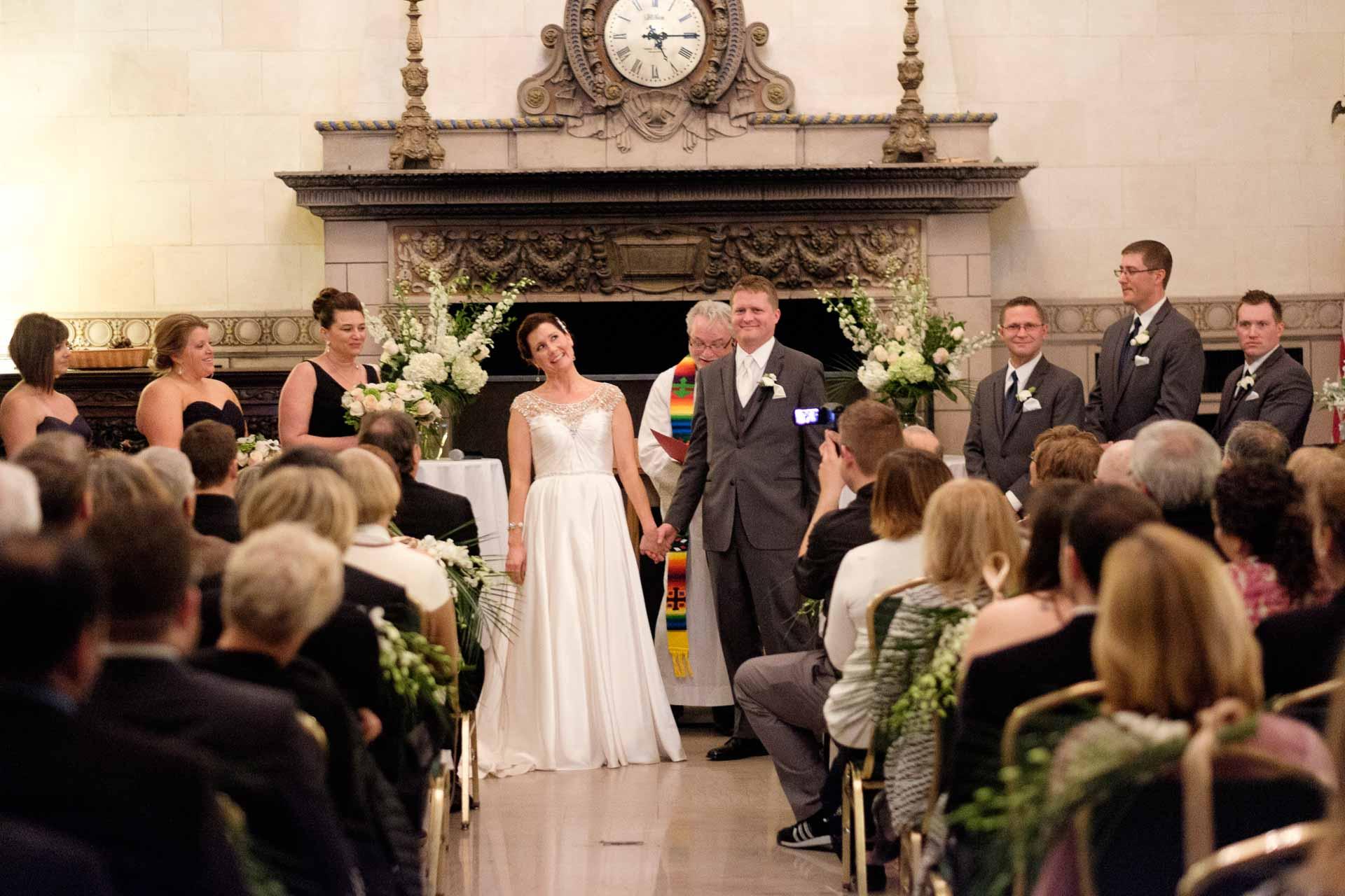 St Paul Athletic Club Wedding
