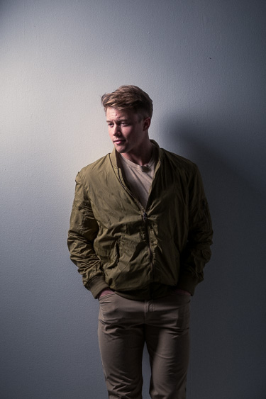Male Modeling Headshot